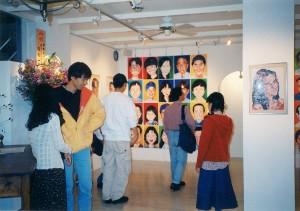 似顔絵アート展